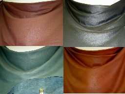 discount designer closeout leather hides for upholstery