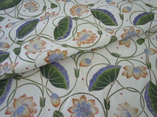 Lotus Grape And Wheat Home Decor Fabric From Laura And Kiran Designer Fabrics Multiuse
