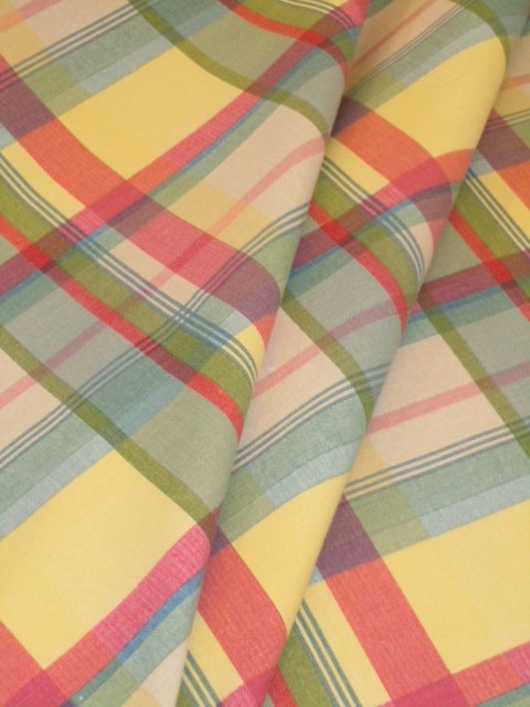 Pattern Sundown Stripe Plaid Decorator Fabric
