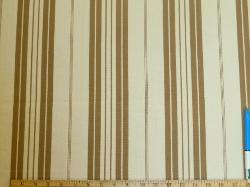 Sample of Designer Stripe Fabric for Home Decor