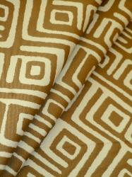 Covington Fabric Design Products high end premium greek key geometric outdoor fabric Jabari Sand Schindler's Cleveland Ohio