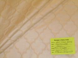 Schindler's Fabrics and Upholstery Shop tag for Color Natural diamond grid Crawford Washed Decorator Fabric