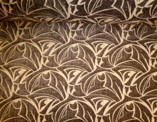 Picno 73 Slate Upholstery Fabric Poly Cotton contemporary cut velvet pattern from our Erie Islands Design with the basics collection discounted to design cheap