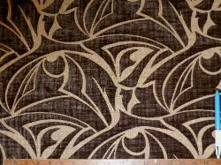 Sample of Discount contemporary cut velvet pattern Color Slate Upholstery Fabric