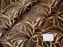 Schindlers Fabrics and Upholstery Shop tag for Discount contemporary cut velvet pattern Color Slate Upholstery Fabric