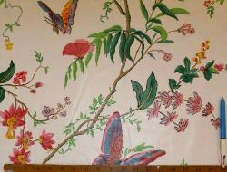 Sample of Cyrus Clark Co. Home Decor Fabric Buyout Cortile Chintz Spring