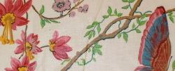 Swatch of Buyout Home Decor Fabric Cortile Chintz Spring from Cyrus Clark Co