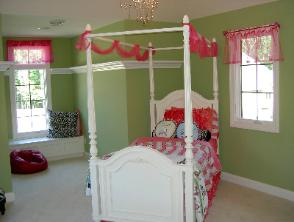 Window Treatment Child's Bedroom Latina Model Home Homerama