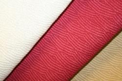 Closeup Texture and Pattern of Erie Islands Fabrics Shogun Basic Solid Colors Natural Cherry Buff Fabric