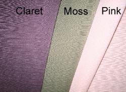 Colors of Erie Islands Fabrics Tory Basic Solid Colors Claret Moss Pink Fabric EIF011408-004thru006