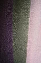 Draped Erie Islands Fabrics Tory Basic Solid Colors Claret Moss Pink Fabric