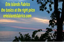 See the other Erie Islands Fabric Collections - click here
