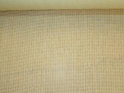 worsted wool semi sheer casement. Wool drapes beautifully with a soft hand. Woven in Great Britain, parchment color