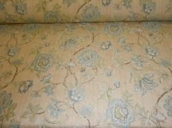Click to see page for Pattern Greenbrier woven jacquard floral, color spa