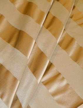 Draped curtain image of Beacon Hill Silk Pattern Gurais Color Truffle