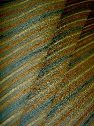 Island Stripe Color Sungold Chenille Upholstery Fabric by the yard