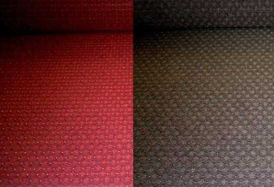 Commercial Contract Upholstery Fabric Jacqueline in Burgundy or Graphite