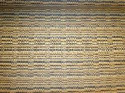 Pattern K Winslow Color Spring Railroaded Upholstery Stripe Fabric, very heavy textured woven jacquard design