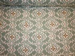 Kashmir Seaglass Ikat Design Home Decor Fabric