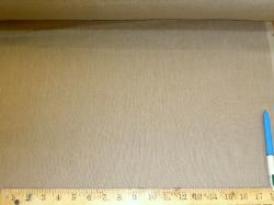 Sample of Linen Drapery Weight Fabric in Taupe