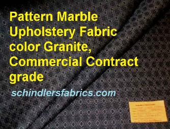 Pattern Marble Upholstery Fabric  color Granite, Commercial Contract grade