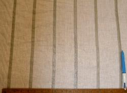 Sample of Drapery Metallic Stripe SemiSheer, from P Kaufmann Clearance Sale