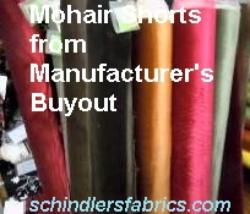 Mohair Shorts from Manufacturer's Buyout manufacturer's buy out