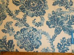 Sample of Decorator Floral pattern Morning Tide from P Kaufmann Clearance Sale