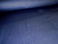 Angled image of Velvet Corduroy Interior Decorating Color Navy Fabric