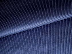 Navy Blue Small Wale Pincord Home Decor Velvet Corduroy Fabric multipurpose interior decorating, curtain and drapery, and medium use furniture upholstering