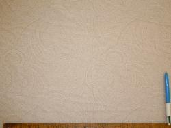 Sample of Closeout Paisley color Cream, from P Kaufmann Fabrics Clearance Sale