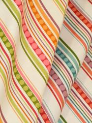 P Kaufmann Groovin Decorator Fabric A Retro Stripe Pattern