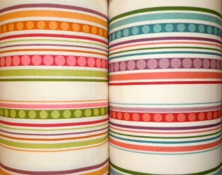 Rolls of Decorator retro stripe pattern Groovin