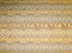 chenille accented striped upholstery fabric pattern Singular Celadon