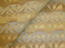 Closeup folded image of pattern Singular Celadon Upholstery Fabric