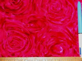 Sample of Softline Kenington Satin F Fuschia for Drapery