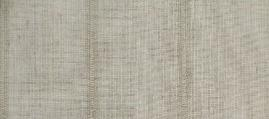 Swatch of Stripe Drapery and Curtain Fabric in Color 1 Natural Linen