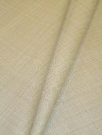 Softline's Pattern Summit in Color Natural Solid-color in a rich grass cloth-like texture Drapery and Curtain Fabric