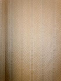 Pattern Spectrum in Color Tawny Decorator Fabric shown railroaded