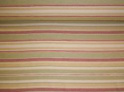 Railroaded Stripe Upholstery and Home Decor Fabric, pattern Tahitian Night, Color Garden, for interior decorating and furniture upholstering