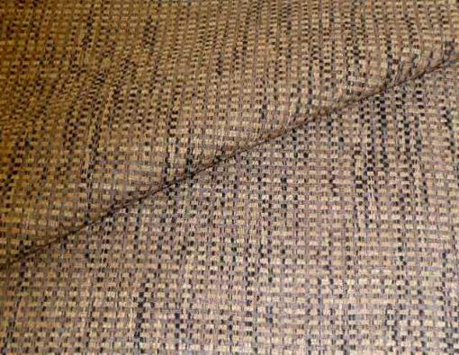 Closeup folded image of discounted to design cheap Wilson in color Gray, Upholstery Fabric