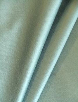 Draped curtain image of Glam texture and sheen look Windermere color Aqua decorator Fabric