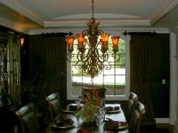 Window Treatment Dining Room Latina Model Home Homerama