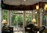Window Treatment Dining Room Latina Model Home Homerama center kitchen valances