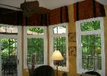 Window Treatment Dining Room Latina Model Home Homerama left kitchen valances