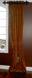 Window Treatment Dining Room Latina Model Home Homerama left side