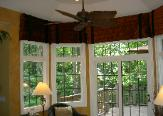 Window Treatment Dining Room Latina Model Home Homerama right kitchen valances