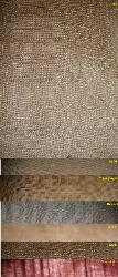 jute scroll linen look and texture Pattern Zenga, colors