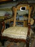 Antique Chair to be Restored and Reupholstered