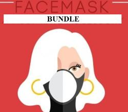 DIY Mask Fabric Bundle with Muslin Lining